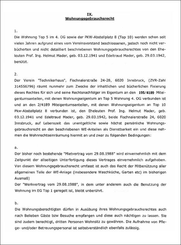 die tiwag.org - Wie Helmut Mader (ÖVP) zu einer 188 m²-Gratiswohnung auf Lebenszeit kam